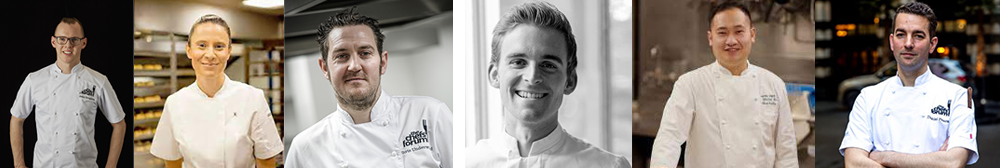 Chefs Forum Young Pastry Chef of the Year Judges