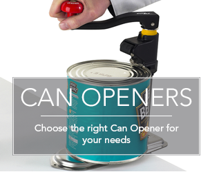 Choose the right can opener for your needs